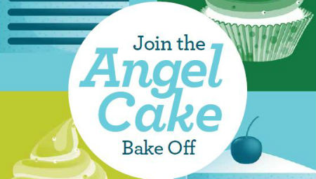 Angel Cake Bake-Off – teen graphic