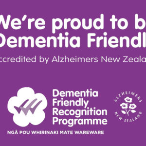 Presbyterian Support Northern is a Dementia Friendly organisation!