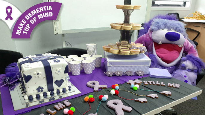 Purple Bake Off! for dementia awareness