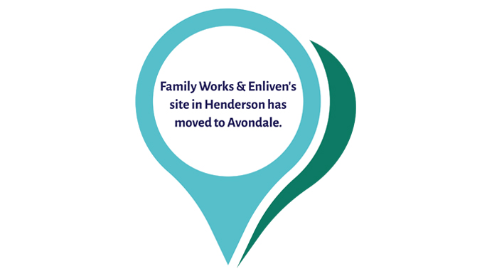 Family Works Waitakere and Enliven West and North Auckland have moved to Avondale.