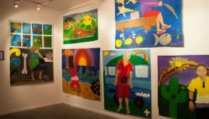 Art exhibition shows dreams