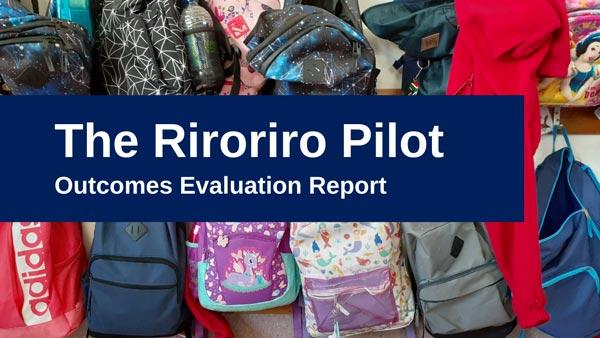 The Riroriro Programme Pilot